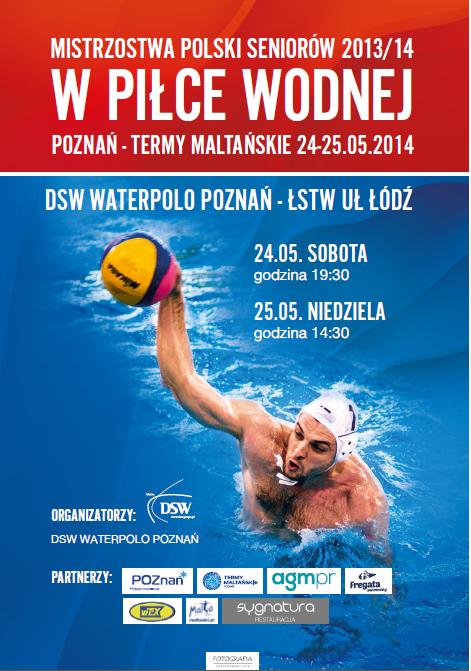 Plakat DSW Waterpolo Poznań_ŁSTW UŁ