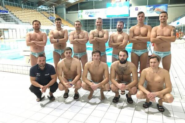 Zdjęcie drużynowe Box Logistics Waterpolo Poznań