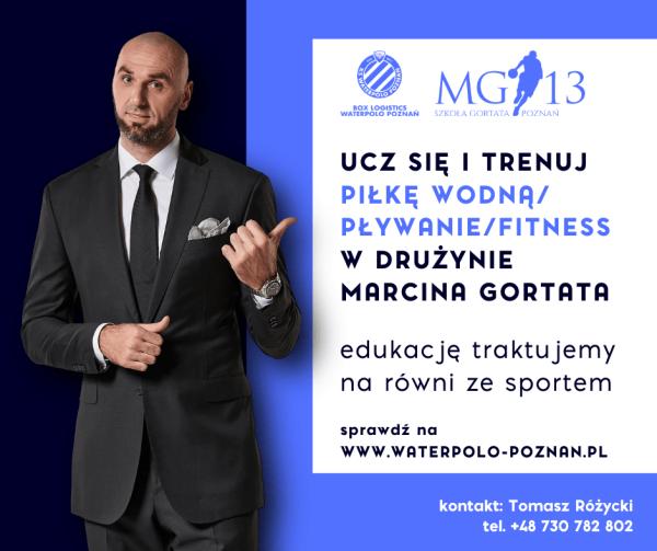 Ucz się i trenuj w drużynie Marcina Gortata